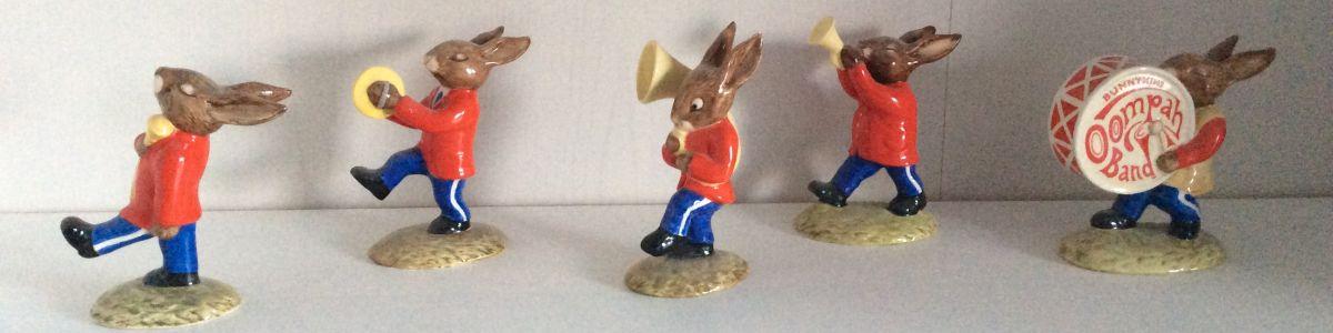 Rare Bunnykins Figurines