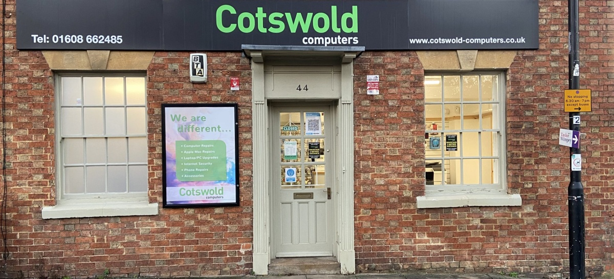 Cotswold Computers Comuter Shop in Shipston-on-Stour Warwickshire