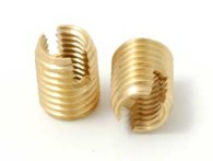 Slot Screw brass self tapping inserts