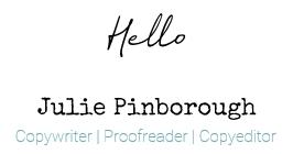 Copywriter | Proofreader | Copyeditor
